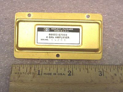 Hp 86603-67003 Rf Amplifier 4ghz Pull