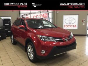 2013 Toyota RAV4 Limited with Technology Package! One Owner!
