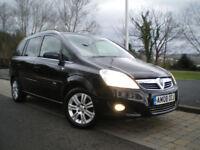 Vauxhall Zafira 1.8 i 16V Design 5dr * HALF LEATHER * ONLY 88K * 12 MONTHS MOT * 3 Months WARRANTY