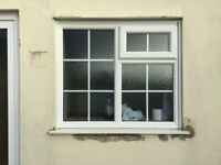 Frosted Glass PVC Window.
