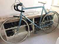 Beautiful, denim blue Raleigh road racer - British Made, all original accessories, great condition