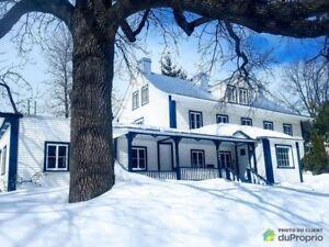 489 000$ - Maison 3 étages à vendre à Ile d'Orléans (St-Laurent)