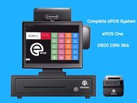 Point of sale, cash register all in one system
