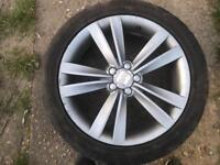 Seat fr alloy wheels