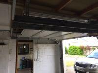 Two Garamatic electric brown garage doors. £300 each.