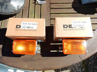 VW Golf MK3 front indicator lenses, two new in box