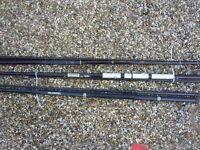 JOB LOT OF 3 FISHING RODS - (SHAKESPEARE, OLYMPIC & MINOR MATCH)