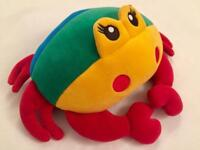 NEW BRIO SOFT TOY COLOURFUL CRAB (NWOT)