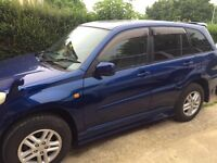 Toyota RAV4 automatic with low mileage