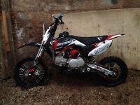 Pit bike demonx dxr2 125cc