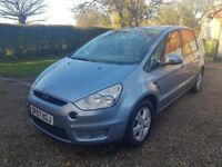 FORD S-MAX 2.0 ZETEC TDCI 6SPEED 7 SEATER