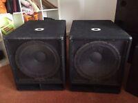 yamaha sv118iv bass bins