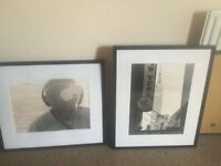 3 x pictures with black frame 59 x 69 cm selling all together
