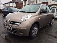 2006(56)NISSAN MICRA 1.2-5DOORS,FULL DEALER SERVICE HISTORY,61000 LOW MILES,TWO KEYS,HPI CLEAR