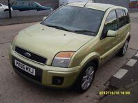 AUTO FORD FUSION 1.4 cc..2006..5 DOORS..FULL YEAR MOT