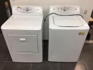 Haier Washer(RWT360BW) and Dryer(RDE350AW) Combo