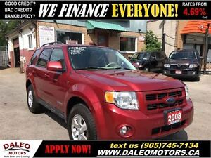 2008 Ford Escape Limited AWD V6 LEATHER