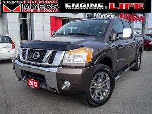 Nissan Titan SL, Leather seats, Navigation, Back up camera, Cru