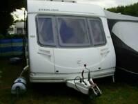 2008 Sterling Europa 495 Fixed Bed 4 Berth Caravan