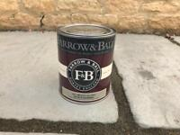 Farrow and Ball NEW tin - all white 2005 estate eggshell - interior wood, metal and cabinets
