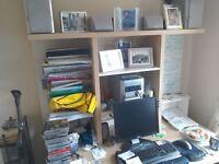 IKEA solid beech effect computer desk