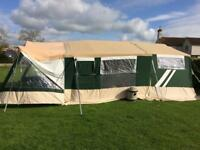 Raclet 8 berth trailer tent for sale