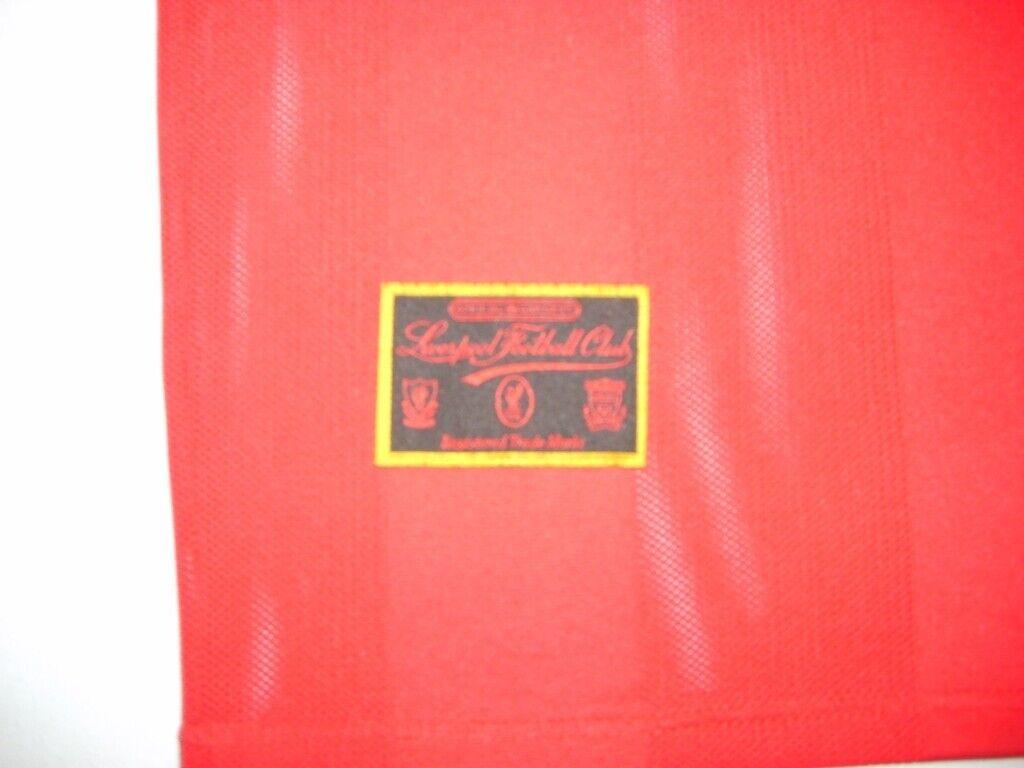 Vintage Retro Liverpool Football Club LFC 95 96 season home jersey shirt  5eb766042