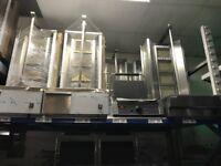 NEW DONER KEBAB SHAWARMA GRILL MACHINE RESTAURANT BBQ KITCHEN FAST FOOD TAKE AWAY SHOP TYPE