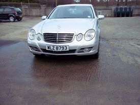 2008 mercedes E280 cdi sport 7 G Tronic 135k with full history.