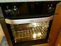 BELLING BUILT-IN INTEGRATED SINGLE FAN ASSISTED OVEN & GRILL 3 MONTHS OLD PERFECT £111 ONI