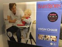 BabyBjorn Highchair (White)