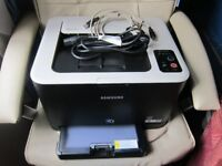 Samsung CLP-325W Laser Printer with toners