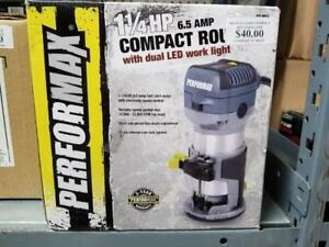 1-1/4 HP 6.5 AMP Variable Speed Compact Router