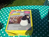 super paint sprayer 55 for fence etc in used condition once only