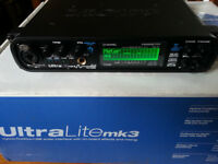 MOTU UltraLite Mk3 Hybrid - USB / Firewire Audio Card - Excellent condition