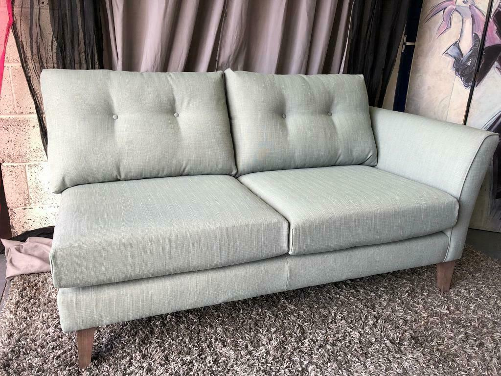 Super New Marks And Spencer Otley Corner Chaise Sofa Section In Sage In Stockport Manchester Gumtree Bralicious Painted Fabric Chair Ideas Braliciousco