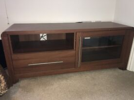 Heart of House Elford TV/Entertainment Unit - Walnut Effect