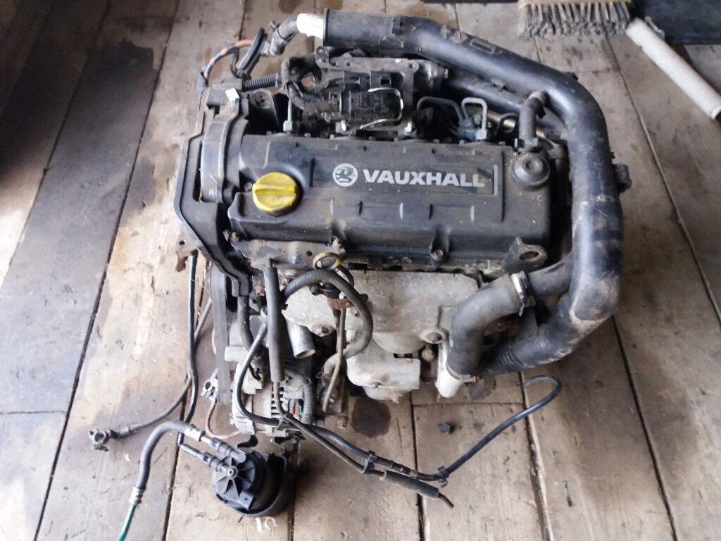 VAUXHALL ASTRA MK4 CORSA C + COMBO VAN 1.7 DTI DIESEL ENGINE 2000-2004