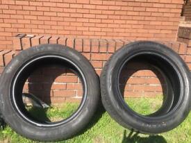 1 pair of Semita SUV tyres