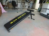Golds Gym exercise bench for sale