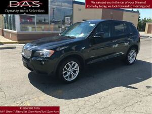 2011 BMW X3 xDrive28i AWD PREMIUM PKG PANORAMIC ROOF/LEATHER