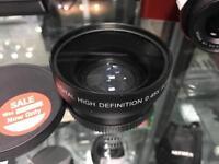 Neewer digital high definition 0.45X super wide angle lens macro