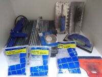ENERGER TILE SAW + ACCESSORIES
