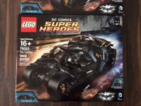 Lego Batman 76023 The Tumbler - Retired. BNISB DC Comics. Factory sealed