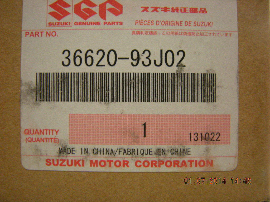 Suzuki Outboard 21ft Main Wiring Harness 36620 93j02 17365 2 Of 8