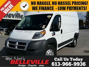 2014 Ram ProMaster 2500 Cargo 159 High-Diesel Engine!
