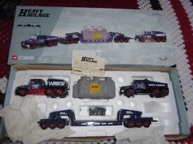 corgi heavy haulages lorries