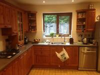 Kitchen unit, cupboards and drawers