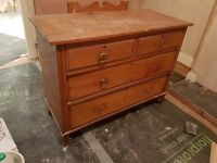 Lovely antique chest of drawers