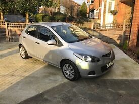 Mazda 2 2008 1.4 diesel, very low miles, new MOT, cheap car tax